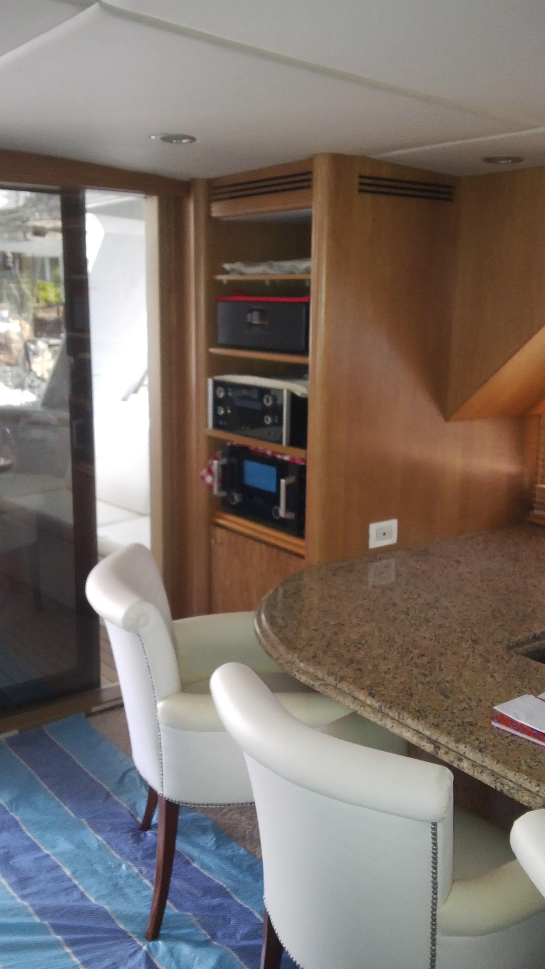 Aft Port Corner - Audio Eqp & Bar