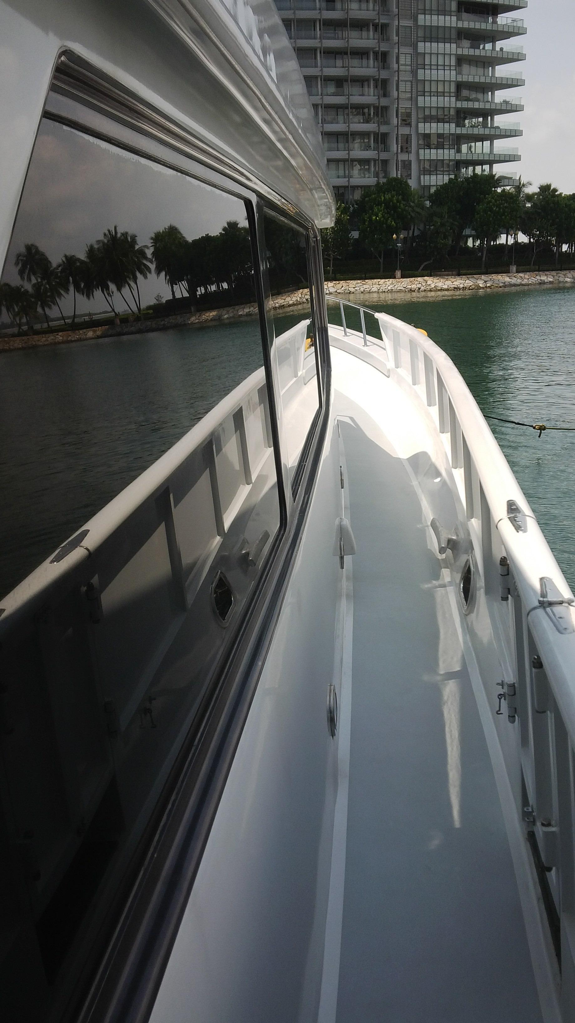 Starboard Deck - Looking Forward