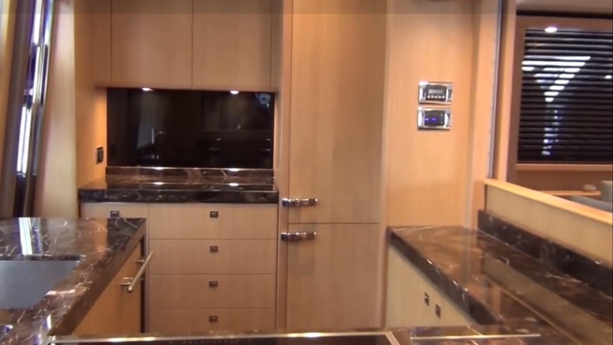 Galley - Princess 78 Motor Yacht