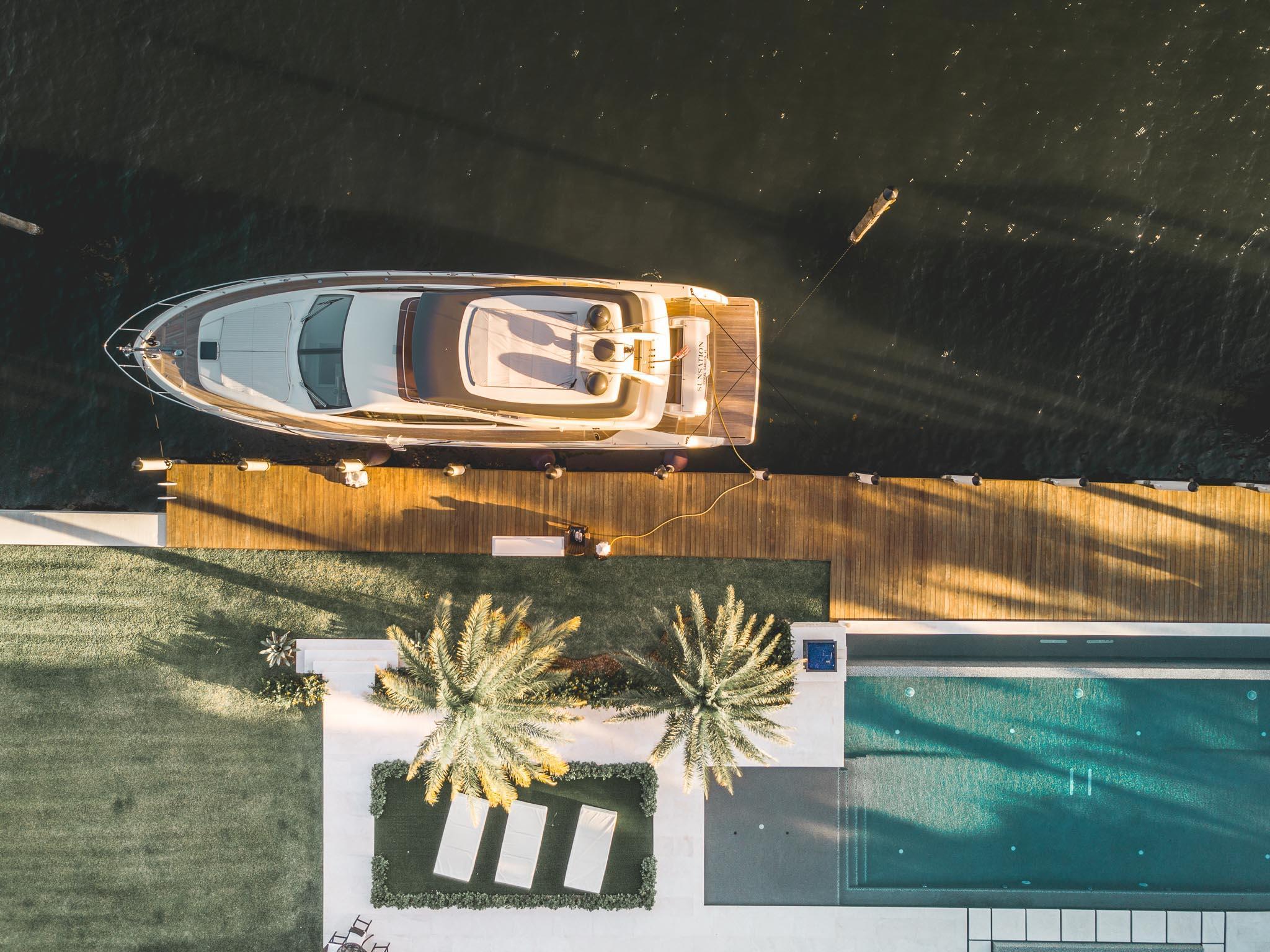 2016 Ferretti 650 - Ariel View