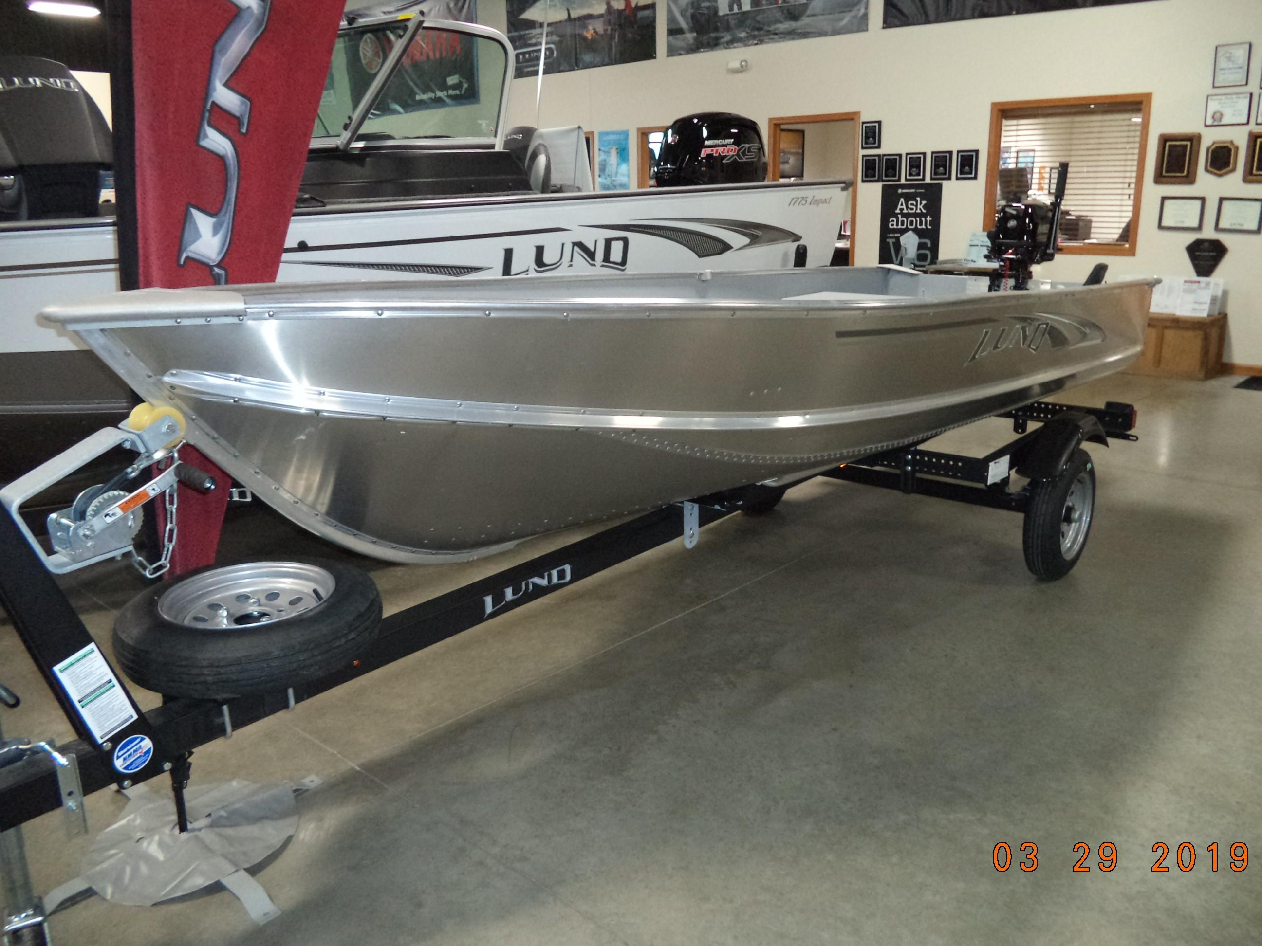 Lund A 14 Tiller Power Boats For Sale - M & J Marine in United States