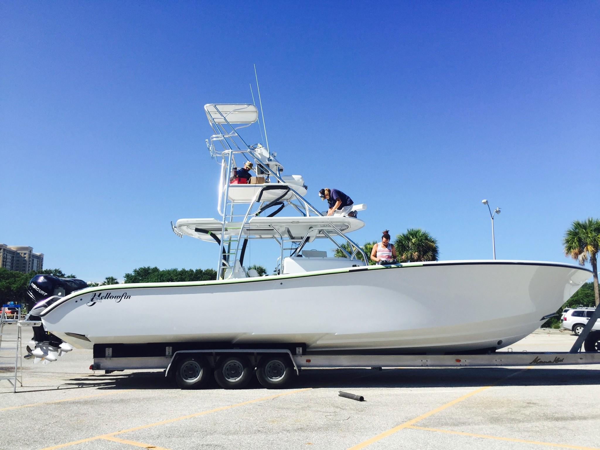 Yellowfin Boats Luxury Sportfish Bay Hybrid Skiff And Offshore