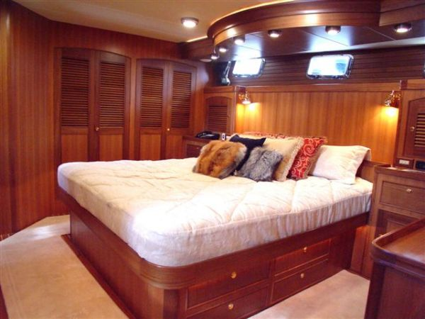 Master stateroom looking forward/starboard