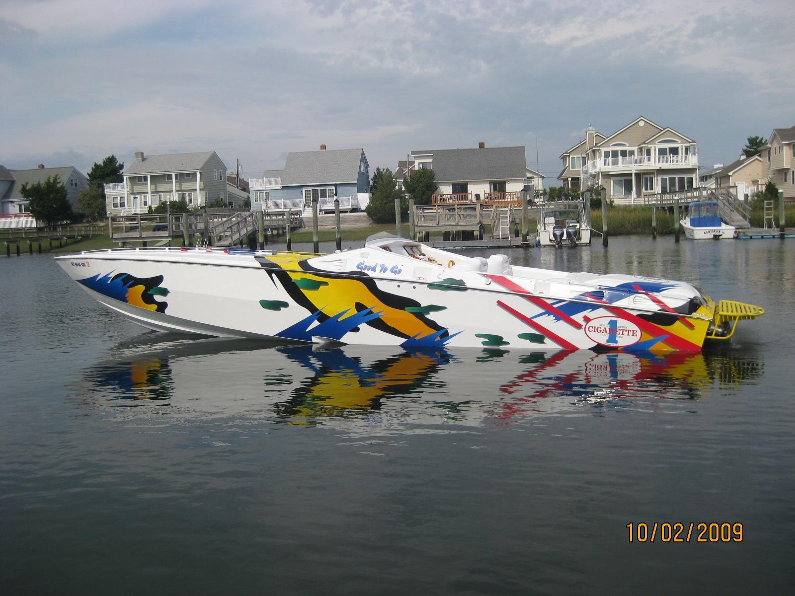 Cigarette Power Boats For Sale Stone Harbor Marina In United States