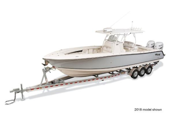 2019 Mako boat for sale, model of the boat is 334 CC Family Edition & Image # 1 of 6