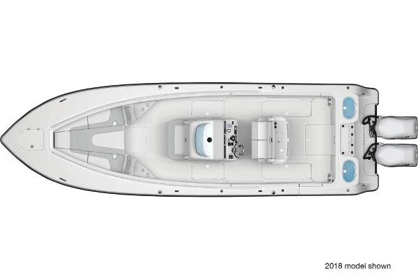 2019 Mako boat for sale, model of the boat is 334 CC Family Edition & Image # 5 of 6