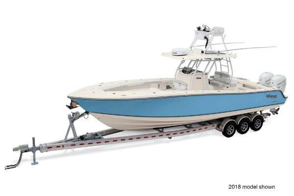 2020 Mako boat for sale, model of the boat is 334 CC Sportfish Edition & Image # 1 of 3