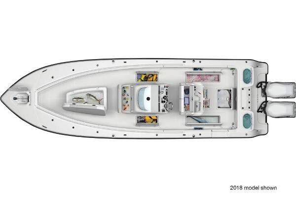 2020 Mako boat for sale, model of the boat is 334 CC Sportfish Edition & Image # 3 of 3