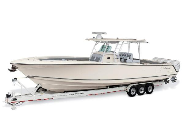 2020 Mako boat for sale, model of the boat is 414 CC Family Edition & Image # 109 of 113