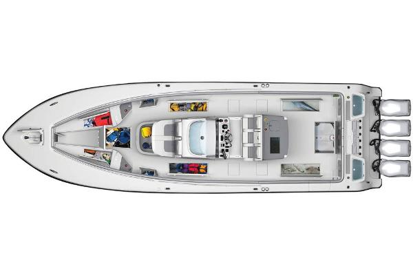 2020 Mako boat for sale, model of the boat is 414 CC Family Edition & Image # 112 of 113