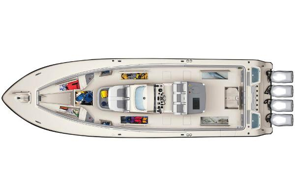 2020 Mako boat for sale, model of the boat is 414 CC Family Edition & Image # 113 of 113