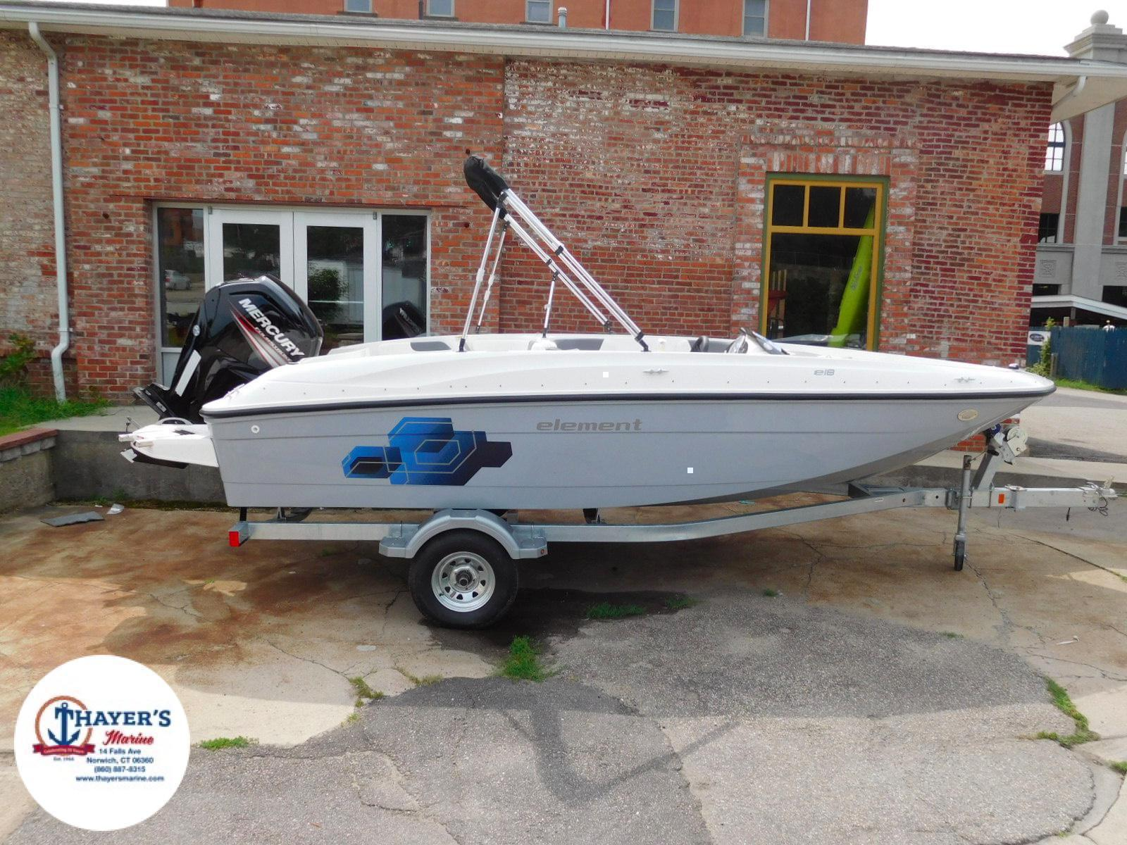 2018 Bayliner boat for sale, model of the boat is Element E18 & Image # 2 of 17