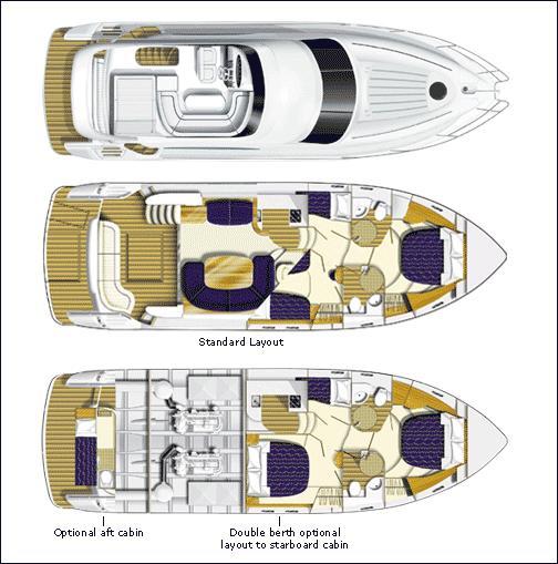 Used Princess 50 For Sale | Princess Motor Yacht Sales