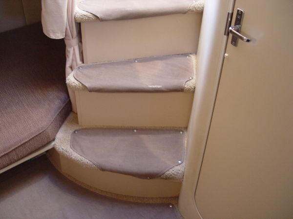 Steps Into Cabin