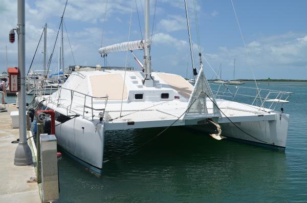 50' Rainier Catamarans 2001 460 Kurt Hughes