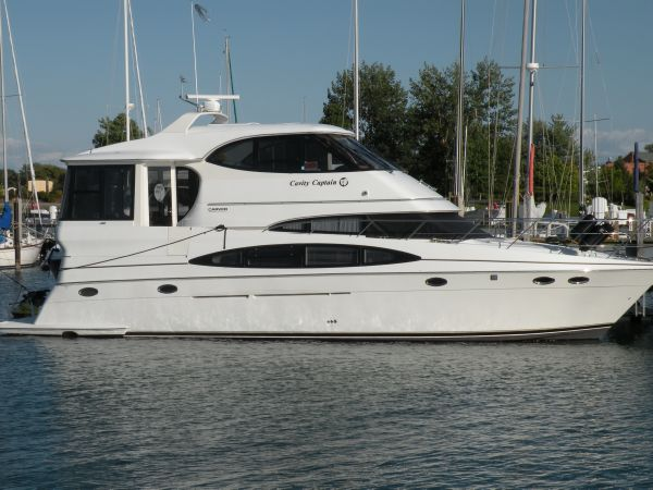 Used carver yachts for sale for 50 ft motor yachts for sale