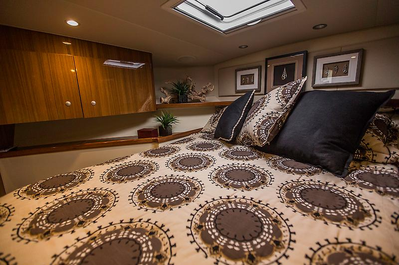 2015 Viking 42 Open, Master stateroom picture 1