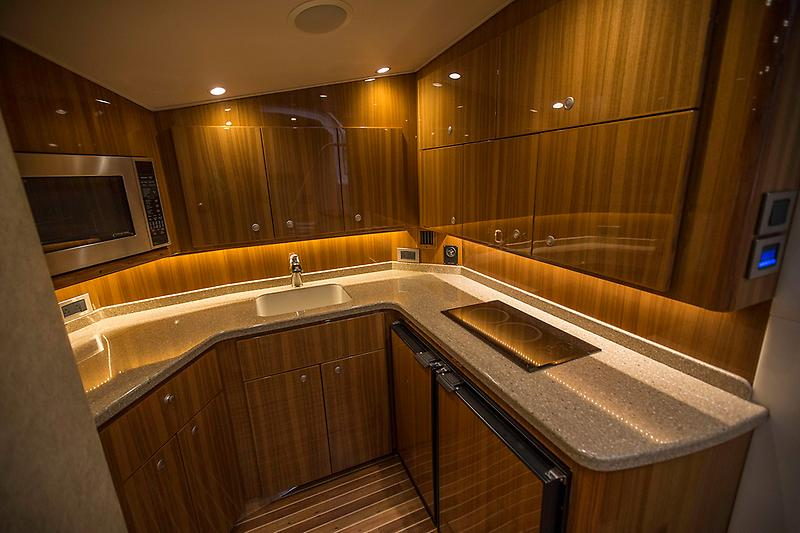 2015 Viking 42 Open, galley picture 2
