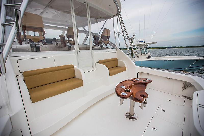 2015 Viking 42 Open,  cockpit picture 1