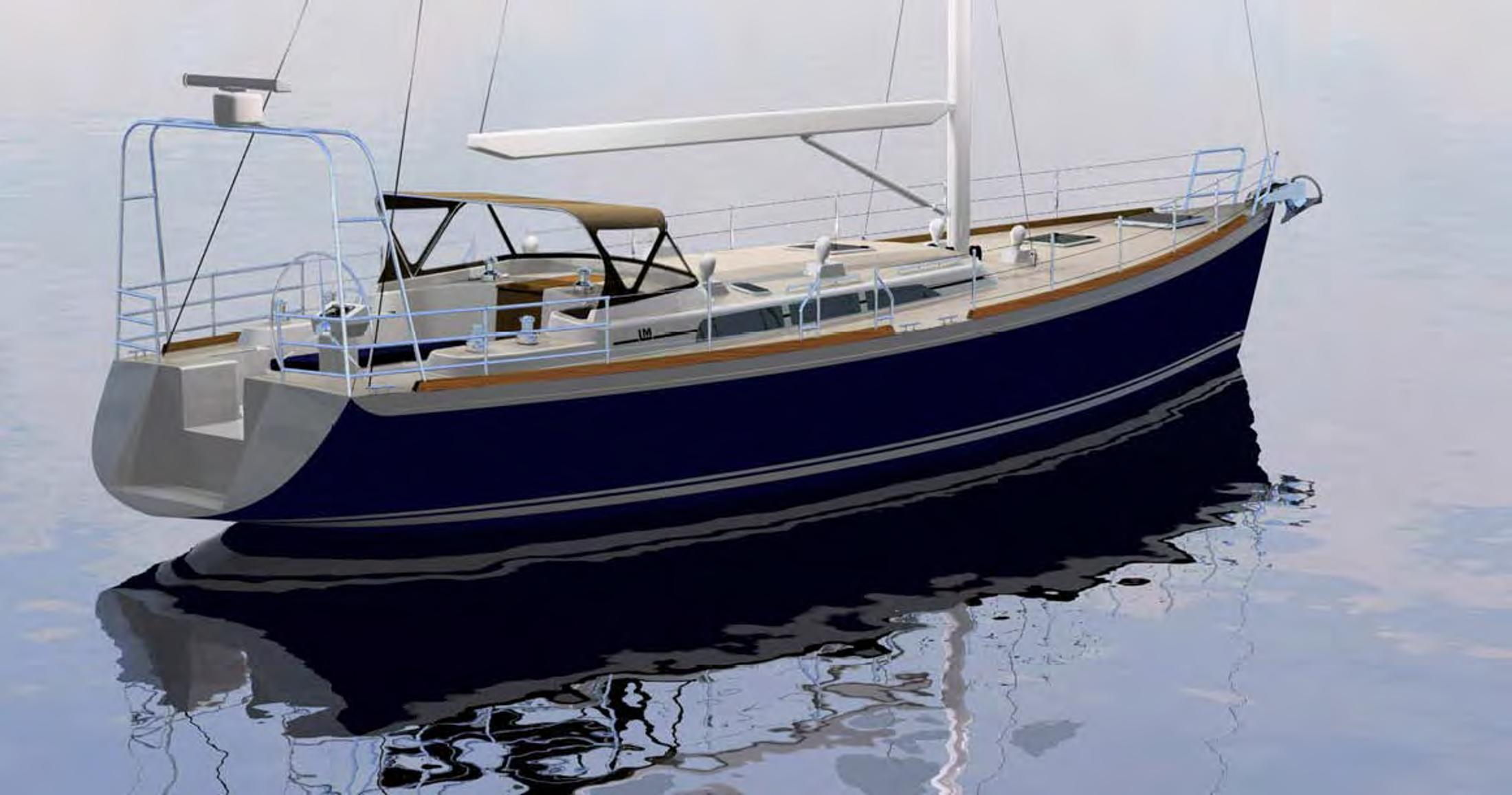 55 Lyman Morse 2017 Thomaston | Denison Yacht Sales