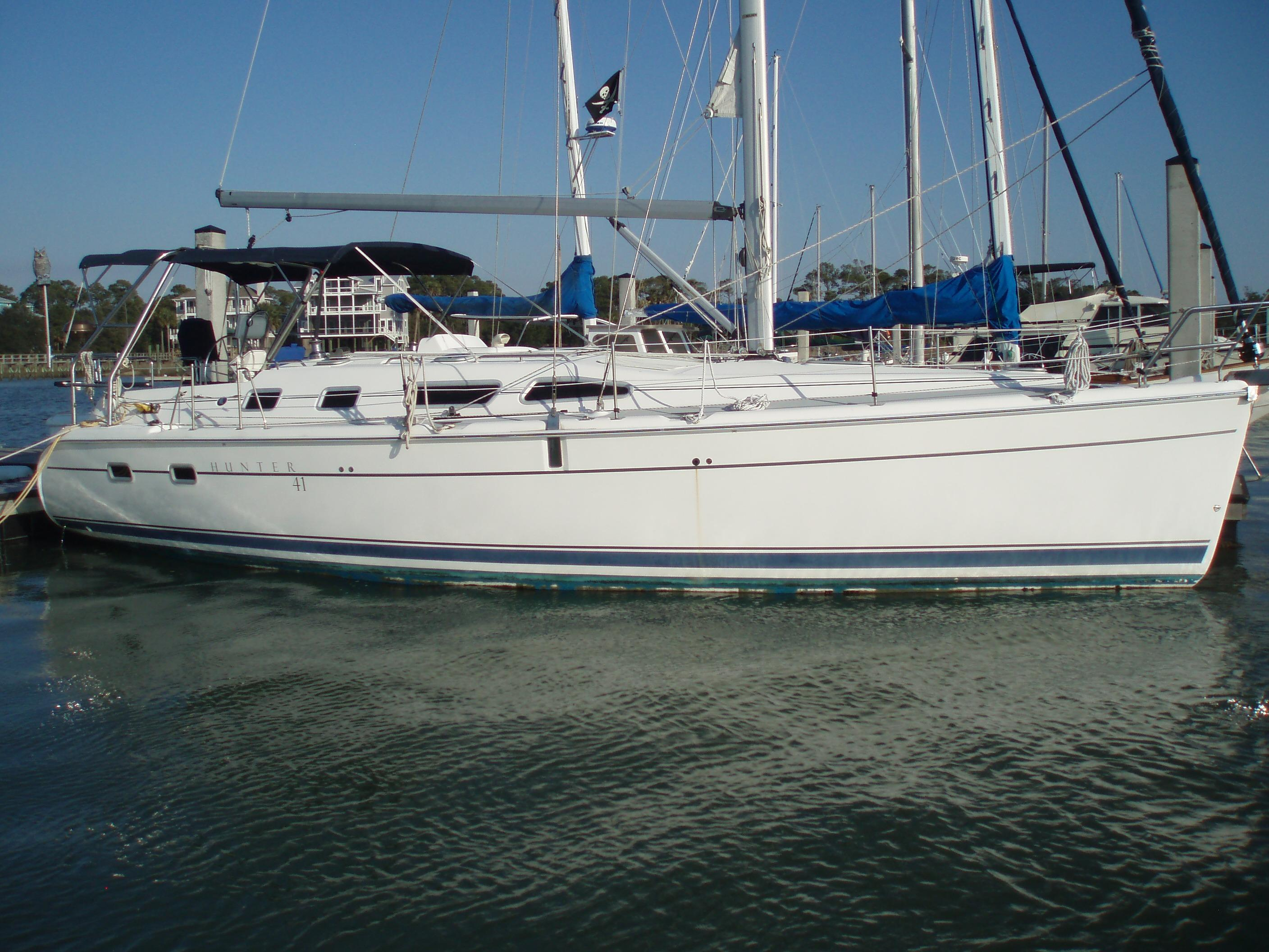 41 Hunter 2005 The Gwendolyn For Sale In Charleston South
