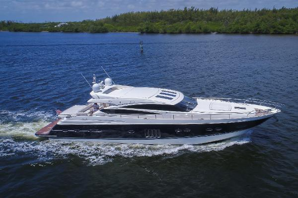 2010 78' Princess Yachts V78 Sport Cruiser