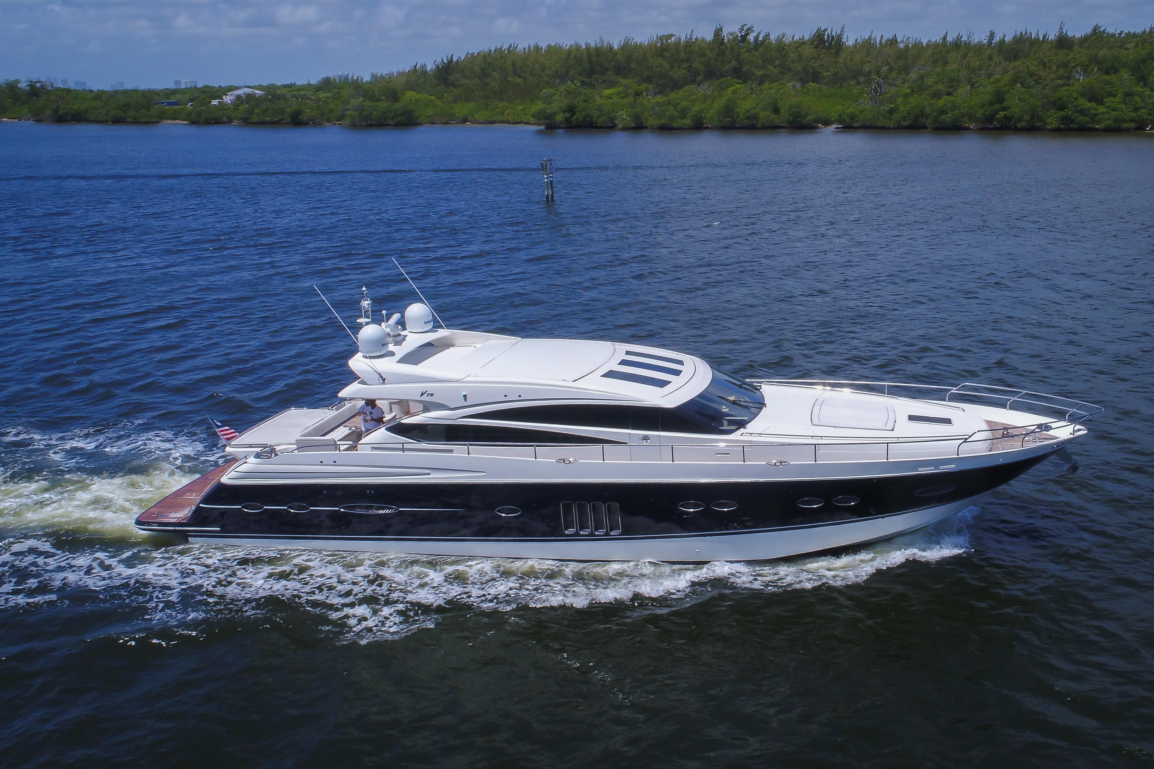 2010 Princess Yachts V78 Sport Cruiser