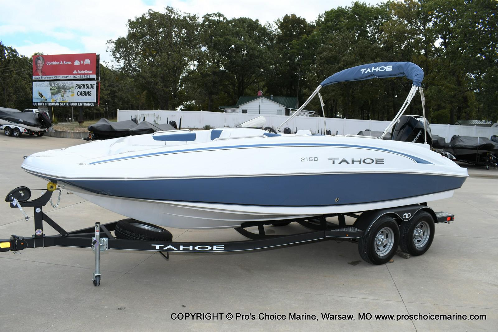 2020 Tahoe boat for sale, model of the boat is 2150 & Image # 1 of 50