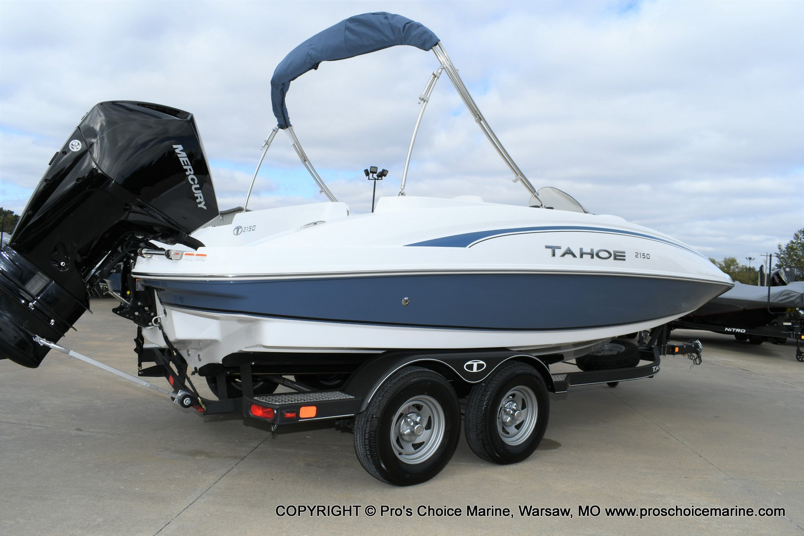 2020 Tahoe boat for sale, model of the boat is 2150 & Image # 27 of 50