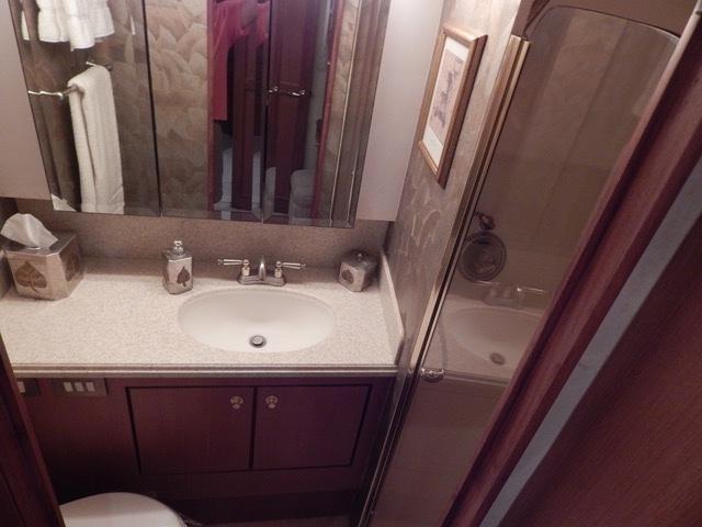 Port Side Berths En Suite Head with Shower
