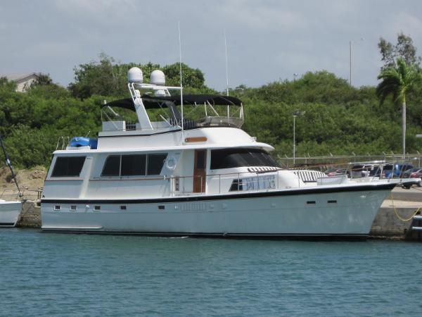 Used hatteras yachts for sale from 50 to 60 feet for Hatteras motor yacht for sale