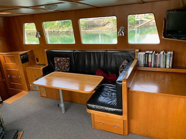 Custom Ostlund Steel Long Range Trawler
