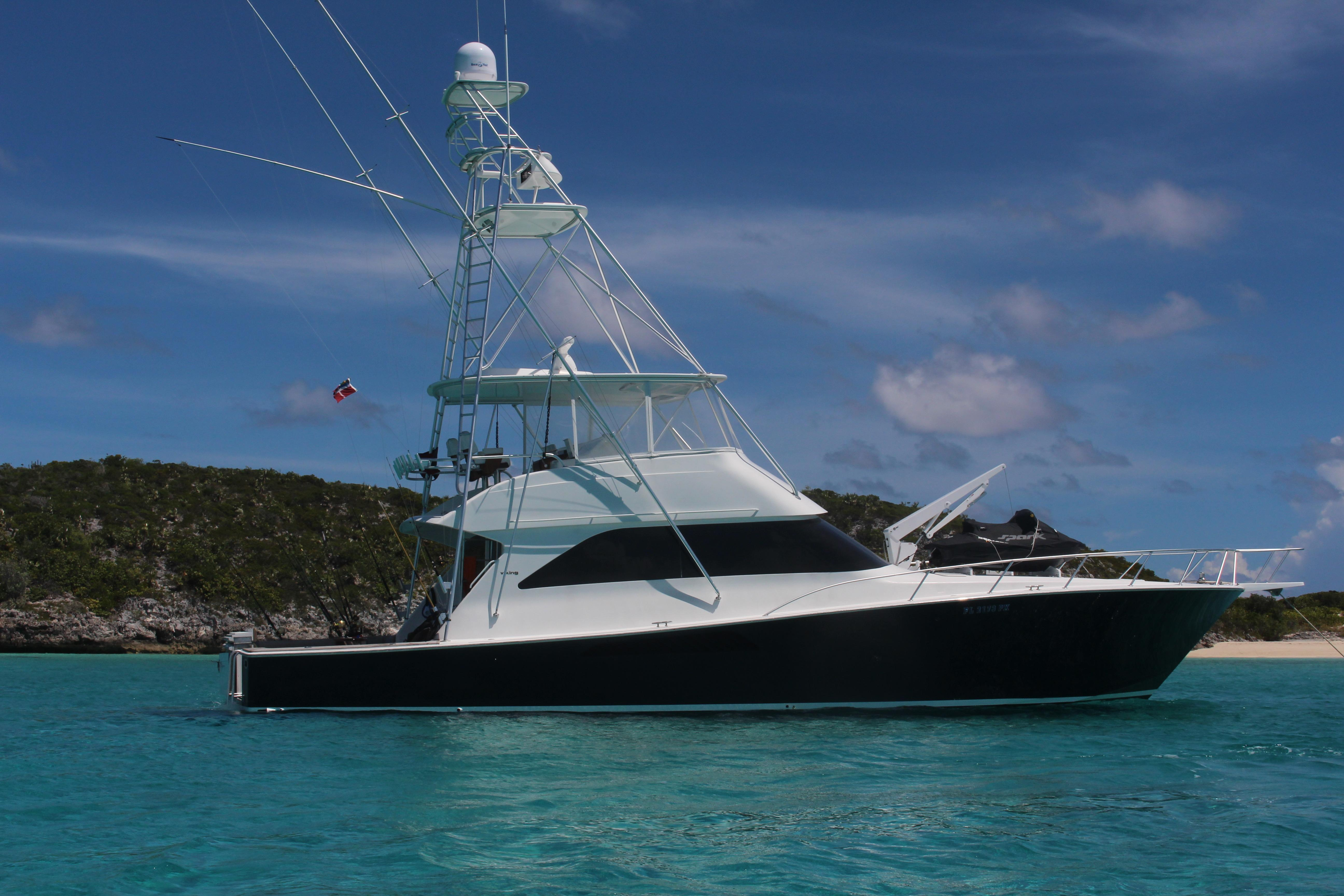 56 viking yachts 2005 midnight moon for sale in ft for Viking sport fish