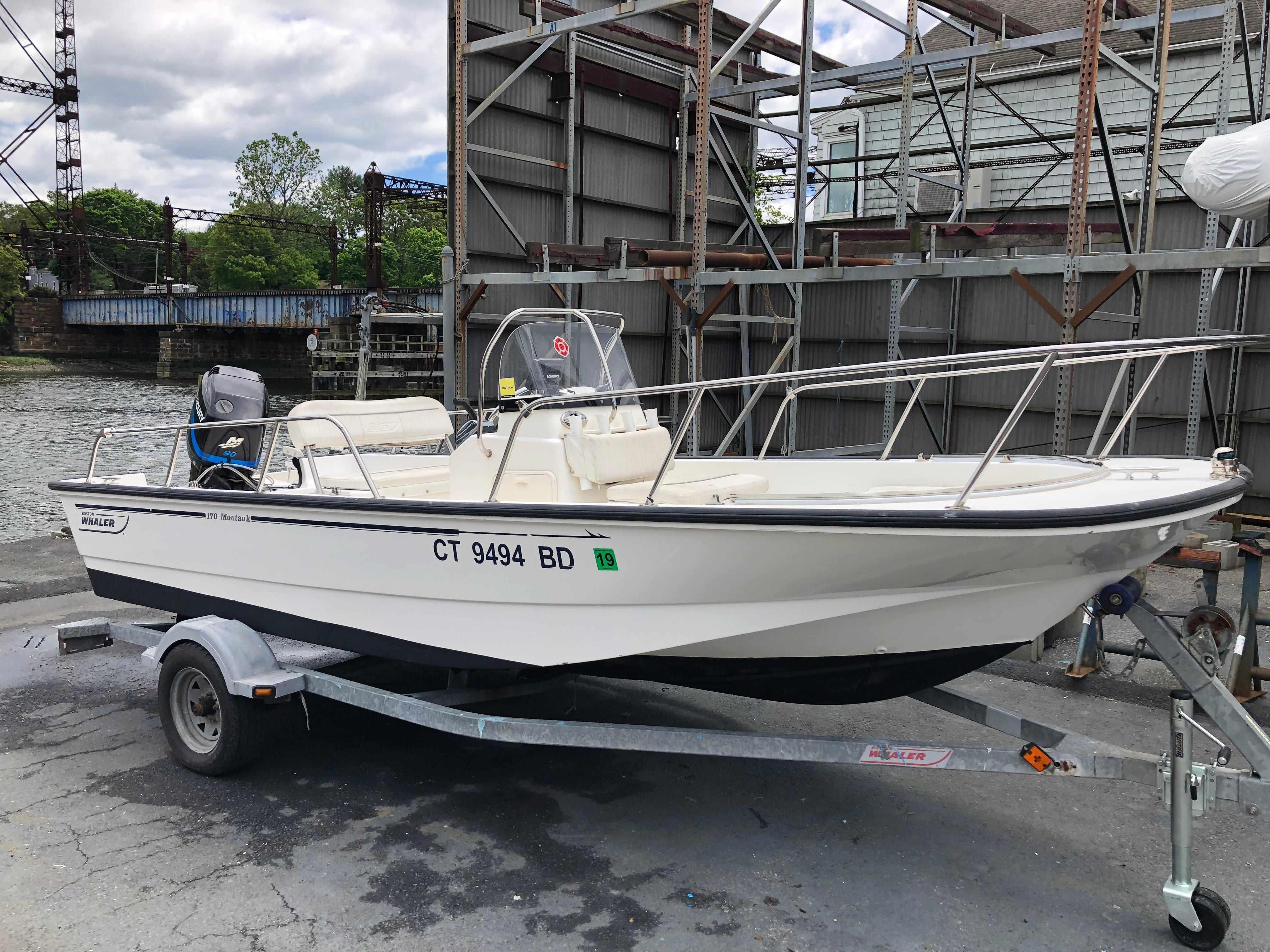 Used Boston Whaler Power Boats For Sale - All Seasons Marine