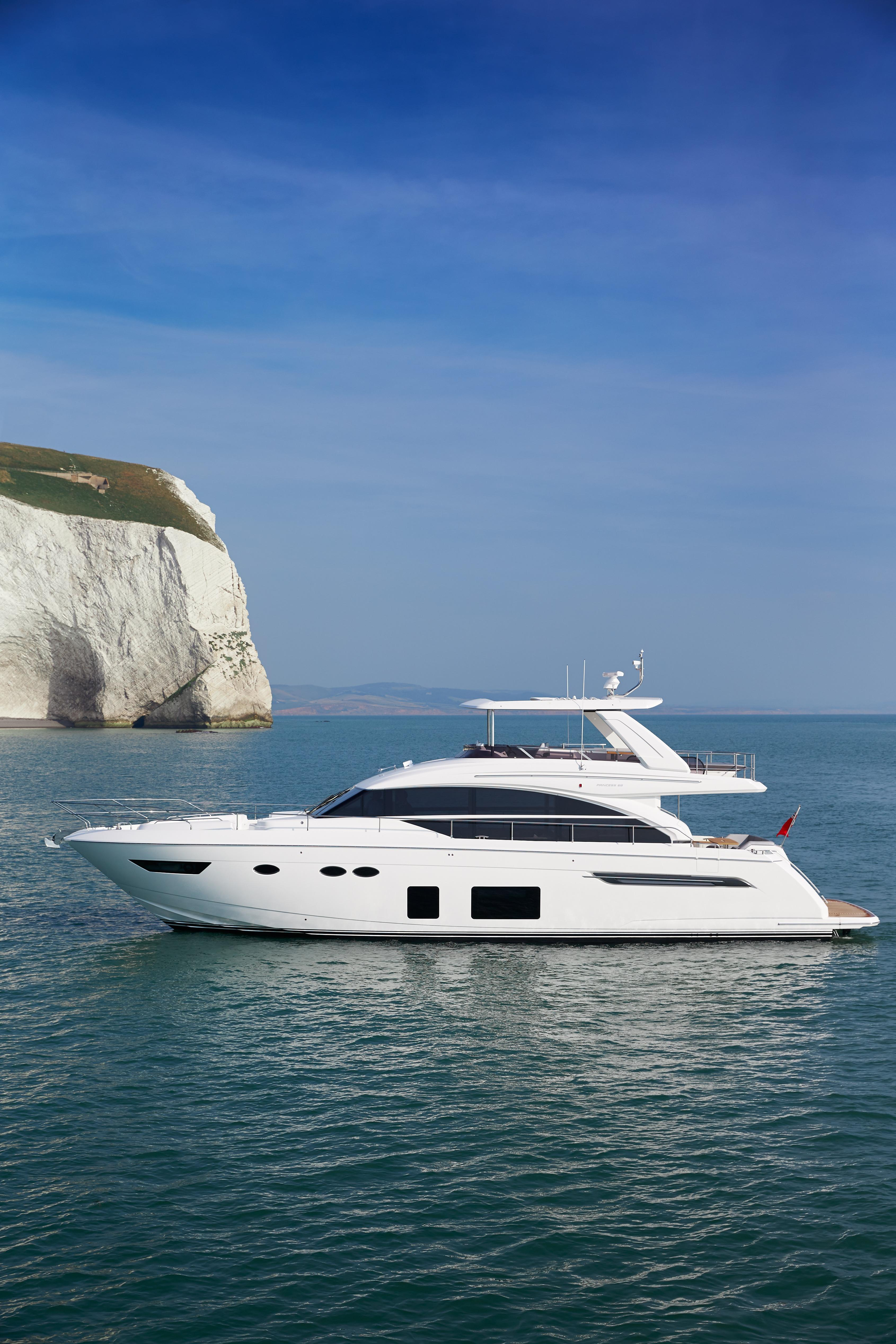Manufacturer Provided Image: Princess 68 Anchored