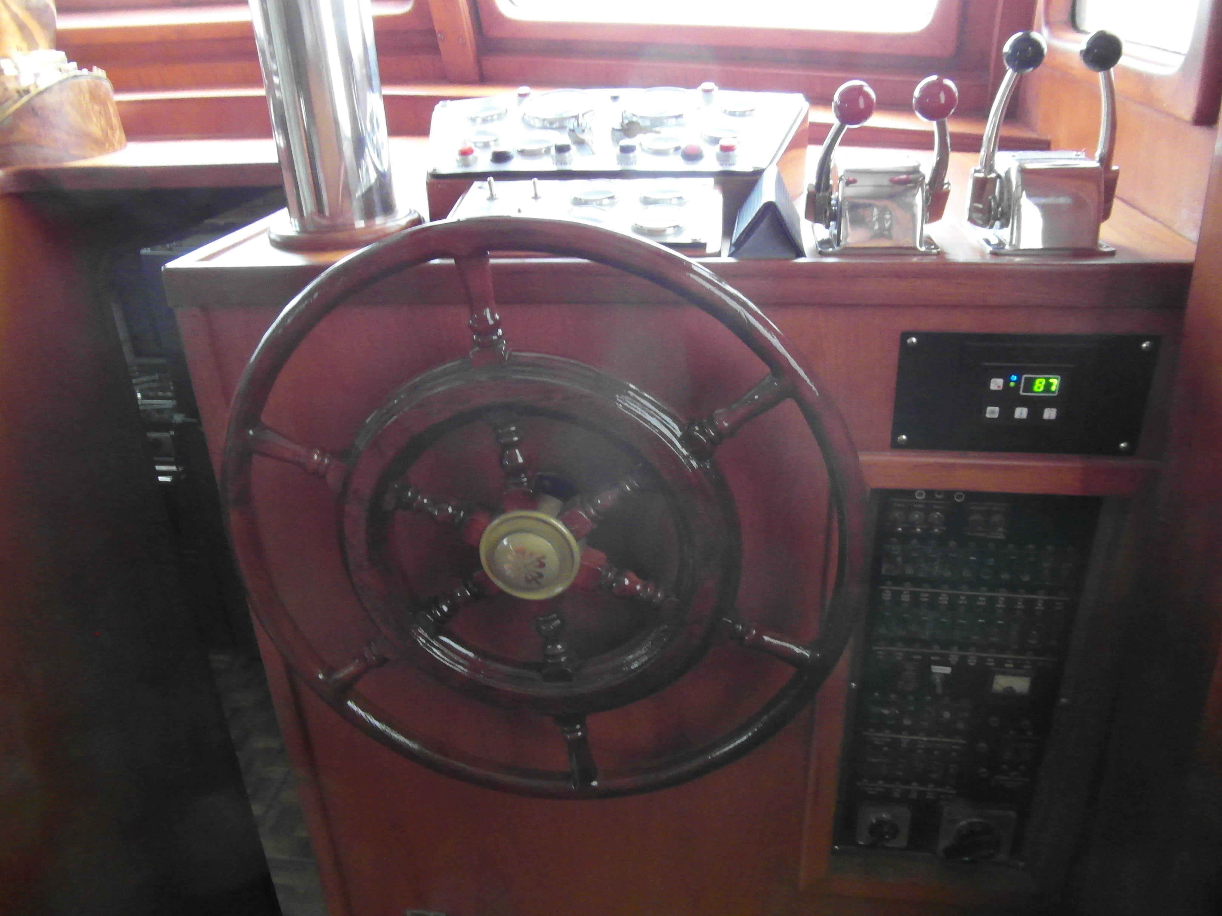 New Controls / New Gauges / New Electronics / Refinished Wheel