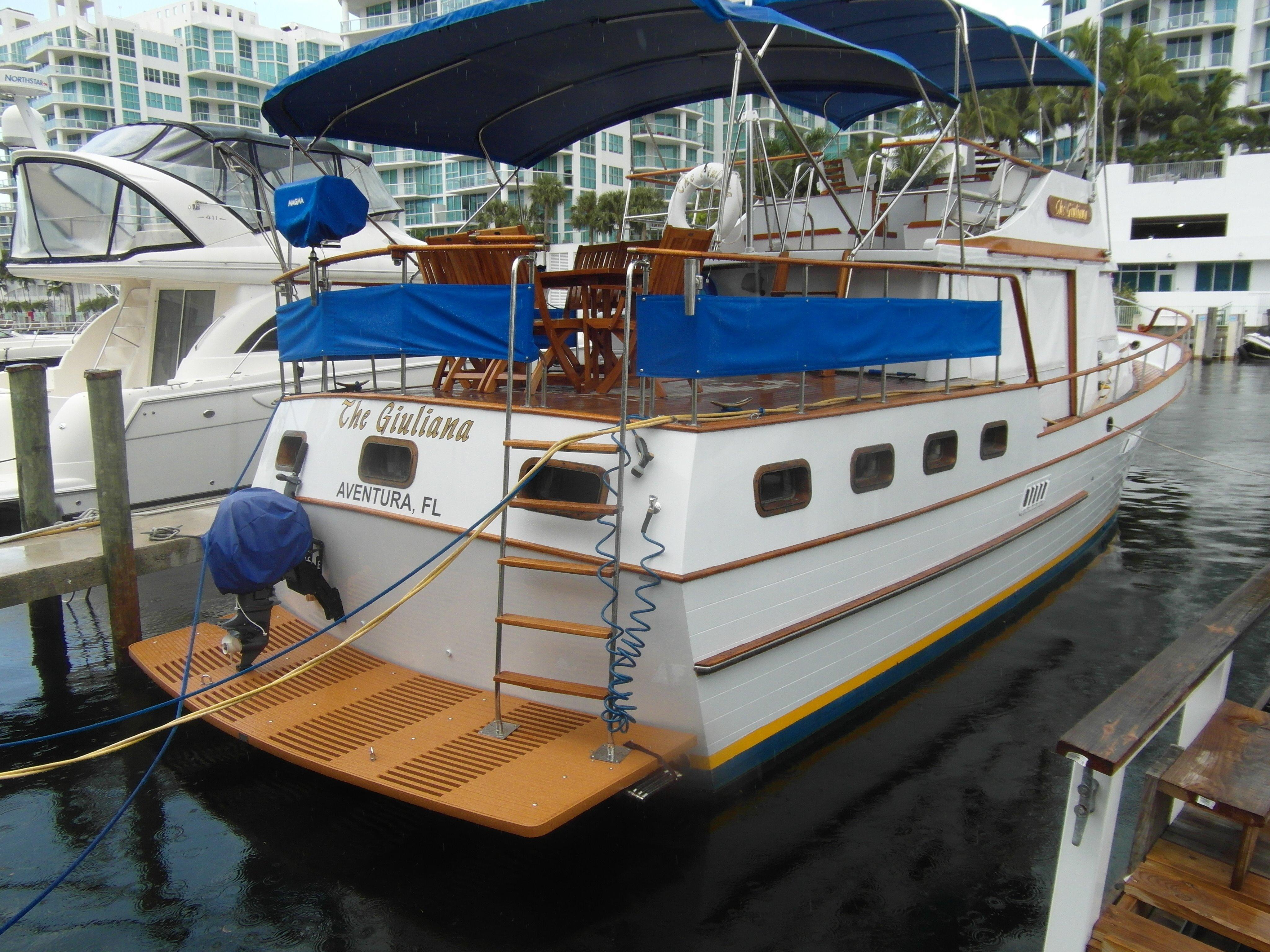 New Swim Platform / Ladder To Sundeck / New Outboard Engine For Tender