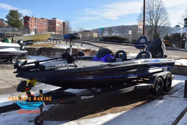 2020 Triton boat for sale, model of the boat is 20 TRX & Image # 24 of 58