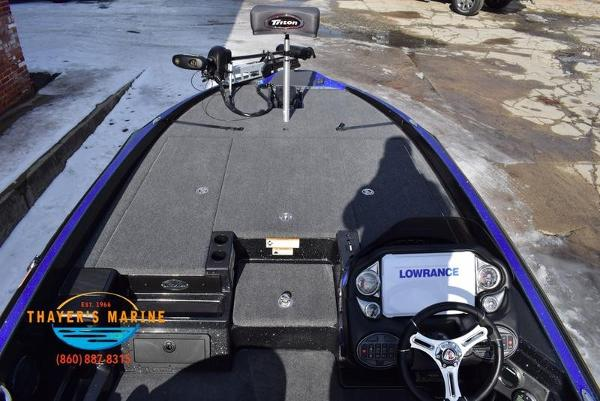 2020 Triton boat for sale, model of the boat is 20 TRX & Image # 26 of 58