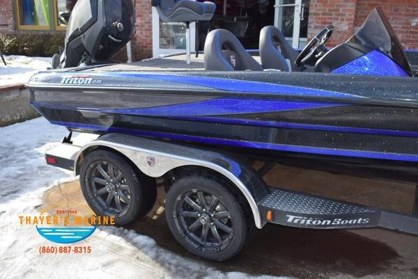 2020 Triton boat for sale, model of the boat is 20 TRX & Image # 47 of 58