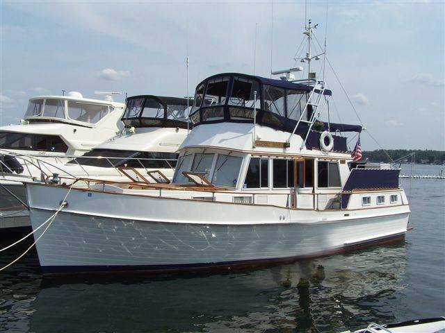 1981 Grand Banks 42 Three Stateroom Motoryacht