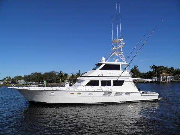 1990 65' Hatteras 65 Enclosed Bridge