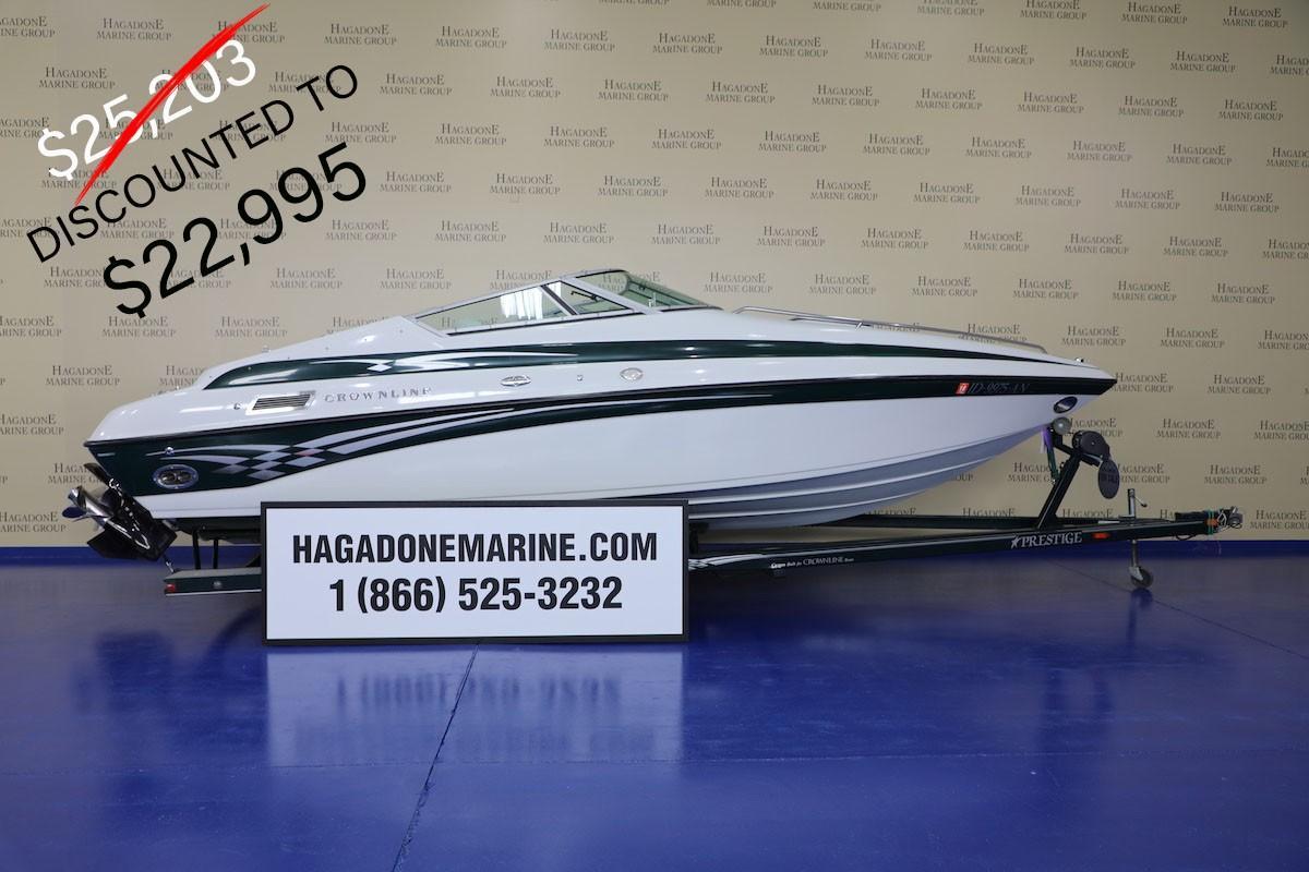 2002 Crownline 225 CCR