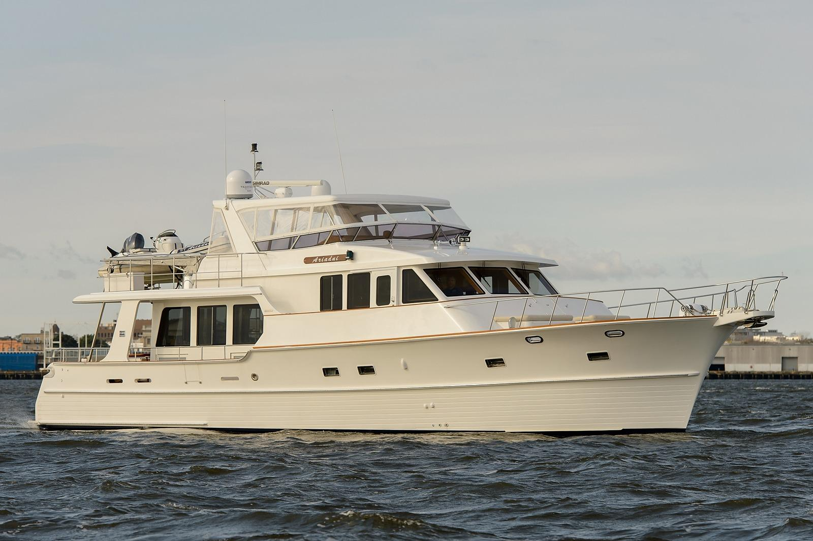 Used grand banks yachts for sale from 60 to 66 feet for Grand banks motor yachts for sale