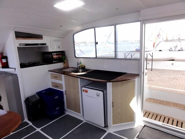 Fantasy Tourism 50 Ft Catamaran New Galley