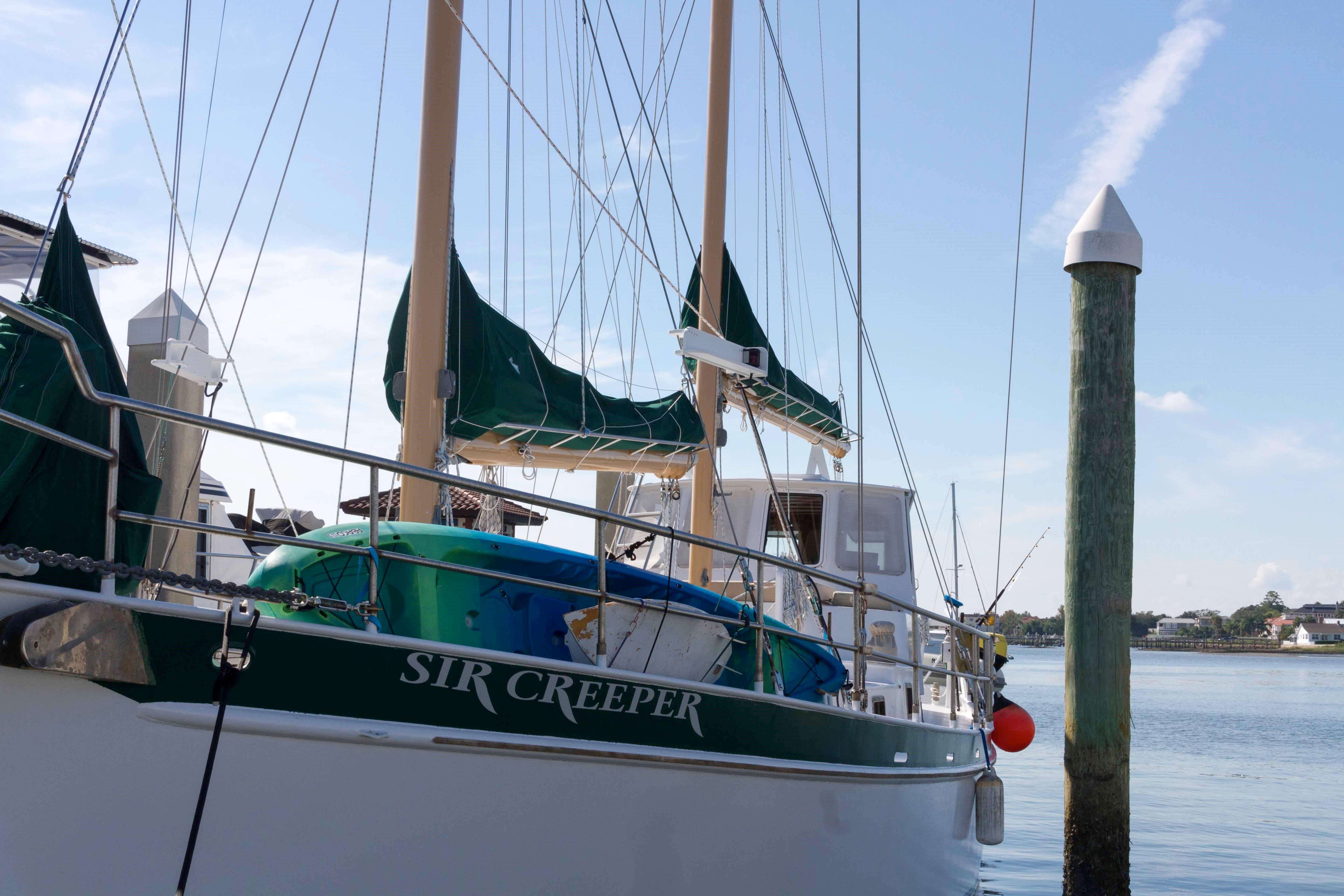 Custom Steel George Sutton 65-foot Luxury Schooner