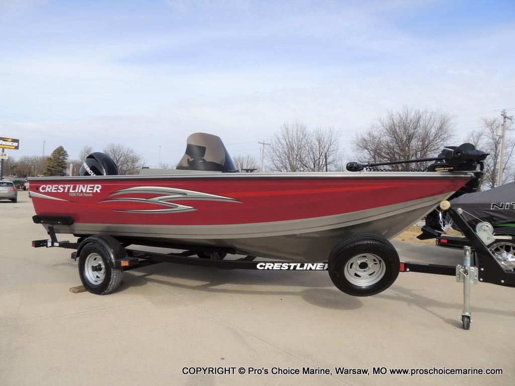 2012 CRESTLINER 1650 FISH HAWK SC for sale