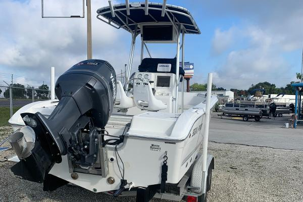 2003 Sea Pro boat for sale, model of the boat is 21 CC & Image # 1 of 2