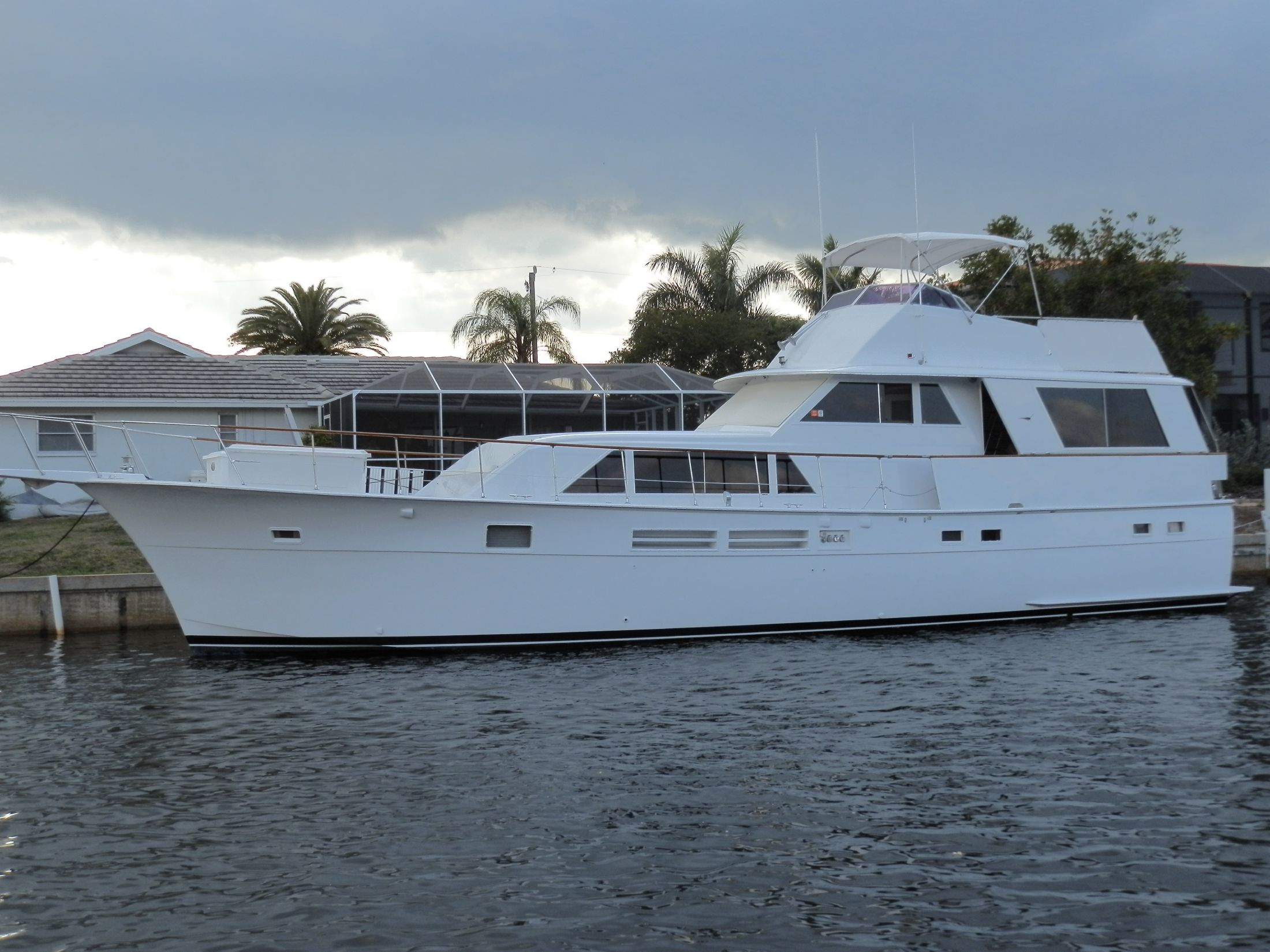 1975 hatteras 58 motor yacht for sale