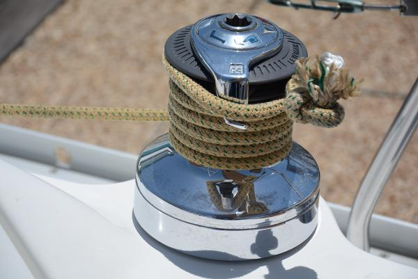 Main Winch For Head Sail Trimming